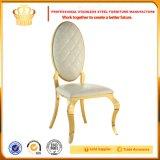 Cadeira moderna da mobília do restaurante com coxim de couro Cy306