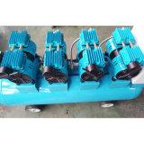 compresor de aire industrial silencioso de la bomba de la CA de 4X550W 120L