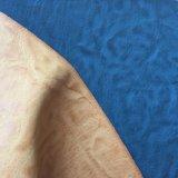Синтетический PU Lether для ярлыков Hx-0720 джинсыов