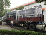 500kw R134A Luft abgekühlter Schrauben-Kompressor-Wasser-Kühler