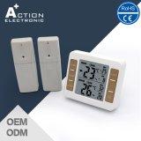 Termômetro de temperatura digital com 2 sensores para refrigerador