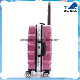 Trolley Rolling Luggage Alumínio Frame Universal Wheels Lattice Suitcase 20/24