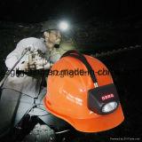 Luz recarregável sem corda do tampão do mineiro do diodo emissor de luz de Kl4.5lm com indicação digital