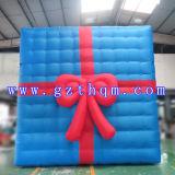 Modelo decorativo al aire libre del rectángulo de regalo de la Navidad/decoración comercial grande Inflatables de la Navidad