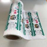L'abitudine ha laminato il film di materia plastica impaccante stampato per la pellicola impaccante del sacchetto del latte dell'acqua potabile del sacchetto dell'acqua