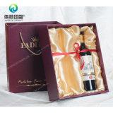 Impressão de empacotamento da caixa do papel 2017 extravagante de luxe o mais atrasado para o vinho