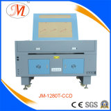 CO2 Laser-Ausschnitt-Maschine mit 1200*800mm Arbeitsbühne (JM-1280T-CCD)