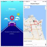 Perseguidor pequeno GPS do cartão do micro SIM que segue o dispositivo para a bicicleta