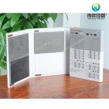 Boîte de rangement de papier de carton gris pour l'impression en céramique