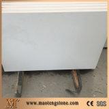Bancadas chinesas brancas puras Polished facilitadas laminadas de quartzo