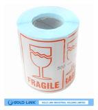 China hizo uso de la escritura de la etiqueta de la impresión Sitcker de papel frágil