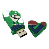 Customed PVC USB 기억 장치 지팡이 만화 USB Pendrive