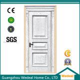 Puerta de madera preparada blanca del MDF de la alta calidad de Lacqured
