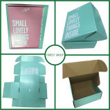 製品のロゴのための化粧箱は1つのカラーでボックスで印刷した