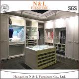 Modernes stilvolles Melamin-Holz-geöffnete Garderobe für Umkleidekabine