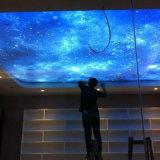 Impression polychrome à la mode personnalisée de film de plafond d'extension de modèle le plus tard