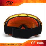 Meilleur neuf vendant les lunettes faites sur commande sphériques de neige de ski d'anti de regain de miroir de Revo lentille de PC