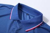 T-shirts 100% de polo de Mens de coton de qualité de Hiqh avec le logo