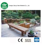 安定した品質WPCの庭のベンチ