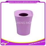 Cubo de basura de plástico redonda Sin Molde de inyección tapa