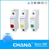 Lámpara de señal verde roja del amarillo 230VAC Eksl Modual