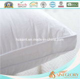 아래로 백색 순수한 면 덮개 호텔을%s 영국 표준 크기 백색 거위 삼각천 베개