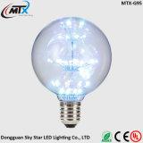 Bulbo de lâmpada estrelado quente do pendente do diodo emissor de luz 3W da iluminação da venda ST64