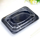 Caixa de almoço plástica japonesa descartável de PP