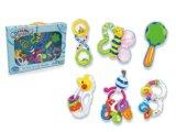 A série educacional plástica dos sonhos dos miúdos chocalha o brinquedo do bebê