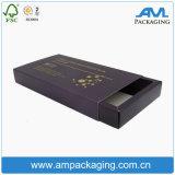 Rectángulo de papel rígido de la hoja de oro de lujo para el empaquetado de la ampolla