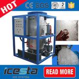 Máquina de hacer hielo 5t/24hrs del tubo de Icesta