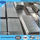Plaque en acier de la qualité 1.2379 de moulage froid de la meilleure qualité de travail