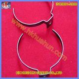 Contacts de lampe d'acier inoxydable et bride (HS-LC-014)