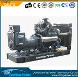 Diesel électrique produisant du générateur portatif de Genset de pouvoir réglé avec l'ATS