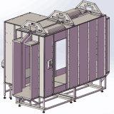 モデルを通した産業粉のコーティングブースのパス