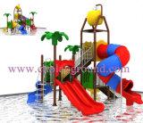 Neuestes kleines Spielplatz-Geräten-preiswerter Wasser-Spielplatz des Entwurfs-2017 für Vergnügungspark (HF-001)