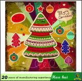 Het Schilderen van Repro van de muur van Kerstmis, het Beeld van Palte van het Metaal van Kerstmis, Decorationtin Teken C183