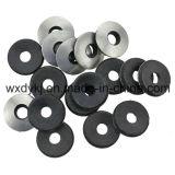 Rondelles métallisées de joint avec le fournisseur du néoprène EPDM de la rondelle de cachetage métallisée de l'acier inoxydable 304 de la Chine