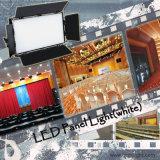 De professionele Studio die van TV het Witte LEIDENE Licht van het Comité aansteekt