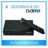 H. 2s Zgemma Multi-Характеристик мощное плюс спутниковый дешифратор удваивает тюнеры OS E2 DVB-S2+DVB-S2/S2X/T2/C Linux сердечника втройне