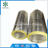 Conducto flexible de aluminio aislado fibra de vidrio de la alta calidad de Sonoduct para la HVAC