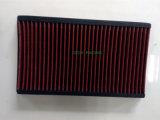 Filtro de ar do carro do painel da recolocação com aço inoxidável ou vermelho