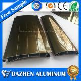 Rolo personalizado Rolando Shutter Porta de alumínio produtos de extrusão de alumínio perfil com Oxidação