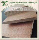 La madera roja cubrió la madera contrachapada ordinaria hecha frente para los muebles o la decoración