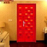 映画館の火の機密保護の出口の木のドア(GSP4-005)
