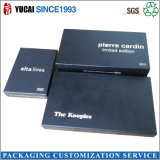 Rectángulo de empaquetado del papel negro del rectángulo de papel para la venta