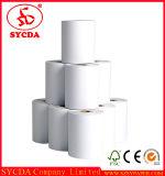 Position Rolls de papier thermosensible de la pâte de bois 45GSM 60GSM