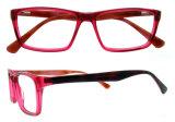 De populaire Met de hand gemaakte Acetaat Eyewear van de Oogglazen van de Ontwerper van de Frames van Oogglazen Italiaanse