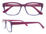 De Frames van het Oogglas van het Embleem van de douane vormen de Naakte Met de hand gemaakte Acetaat Eyewear van Glazen