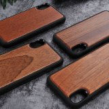 Reale hölzerne erstklassige schützende Handy-Deckel für iPhone 8
